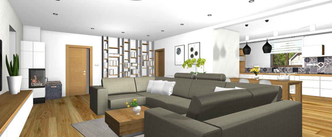 Kuchyňa a obývacia izba Tŕnie