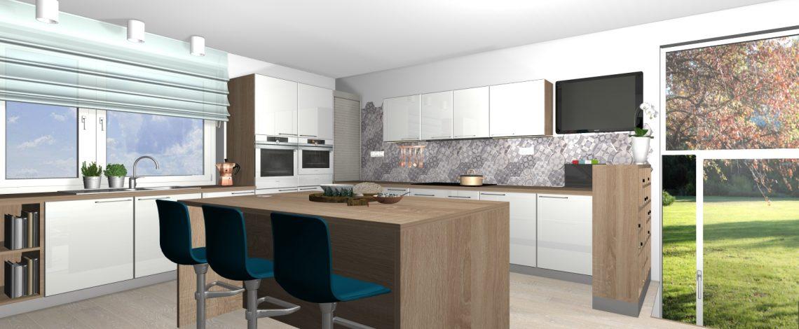 kuchyňa a jedáleň v Uľanke